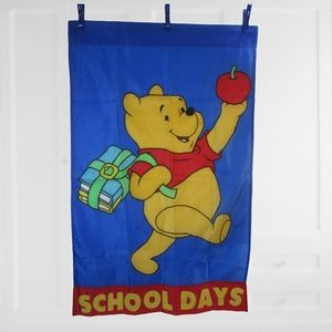 Vintage House garden flag Winnie the Pooh Disney